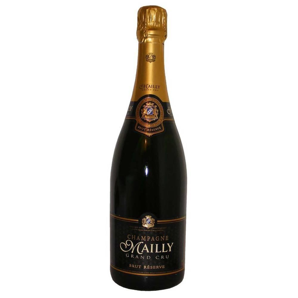 CHAMPAGNE MAILLY GRAND CRU RES BRUT 375