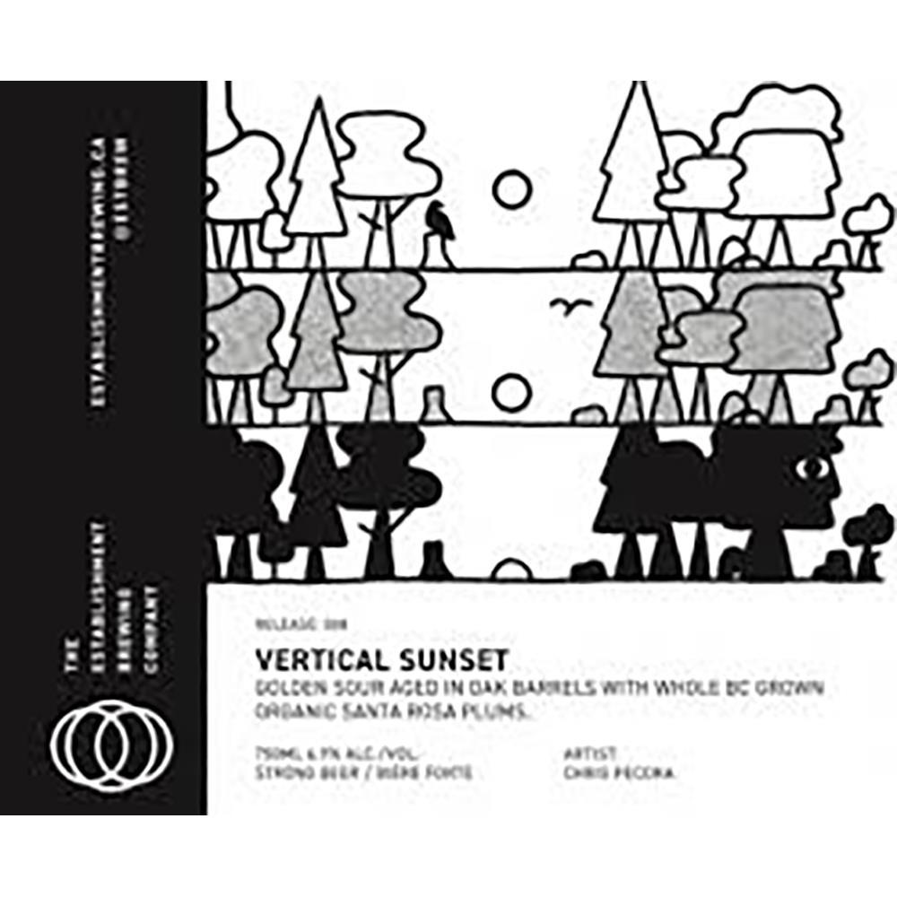 THE EST VERTICAL SUNSET