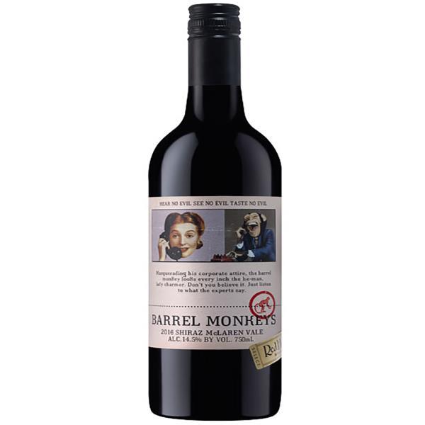 BARREL MONKEYS SHIRAZ