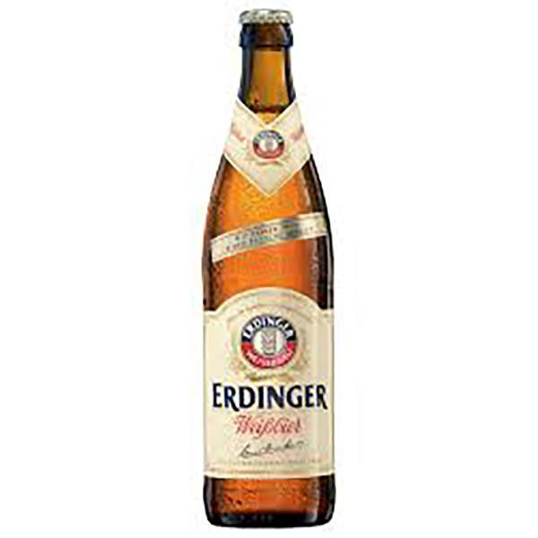 ERDINGER WEISSBIER WHEAT BEER (BOTTLES)