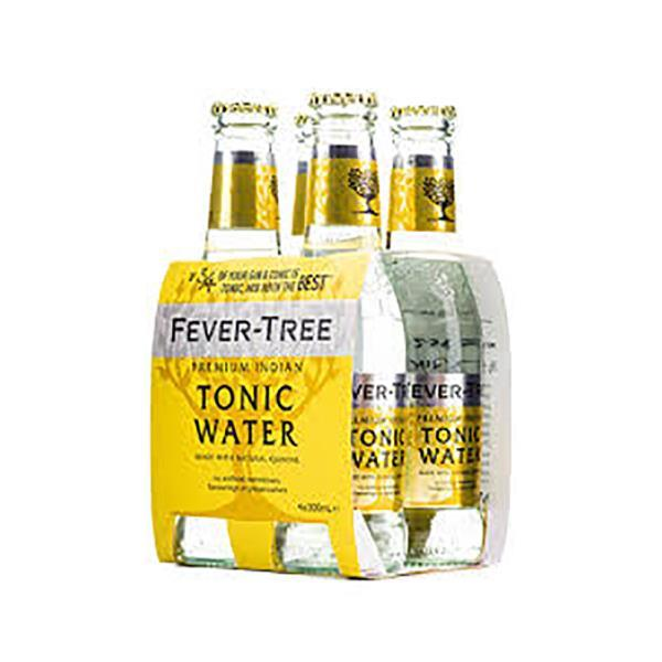 FEVER TREE TONIC WATER 4 PACK
