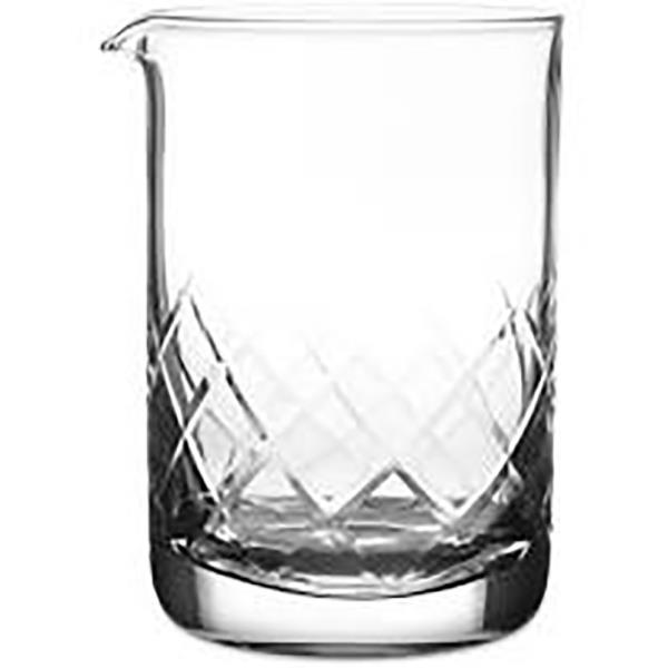 YARAI 'CUT' MIXING GLASS 400ML
