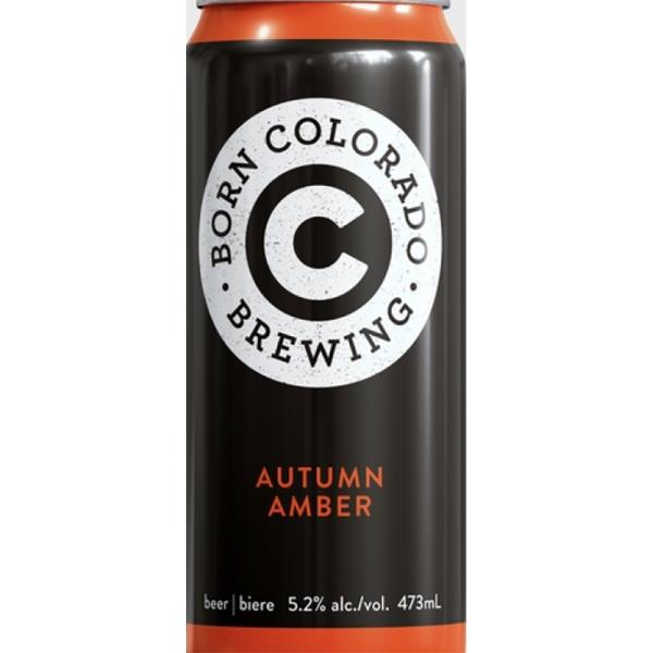 BORN COLORADO AUTUMN AMBER 473ML 4PK