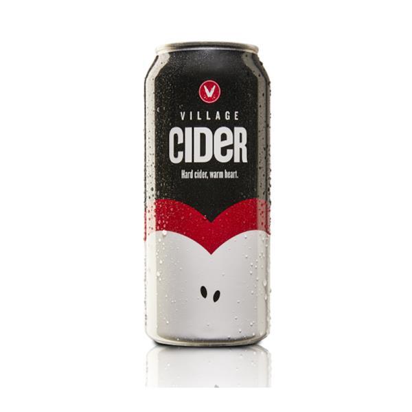 VILLAGE CIDER  4 CANS