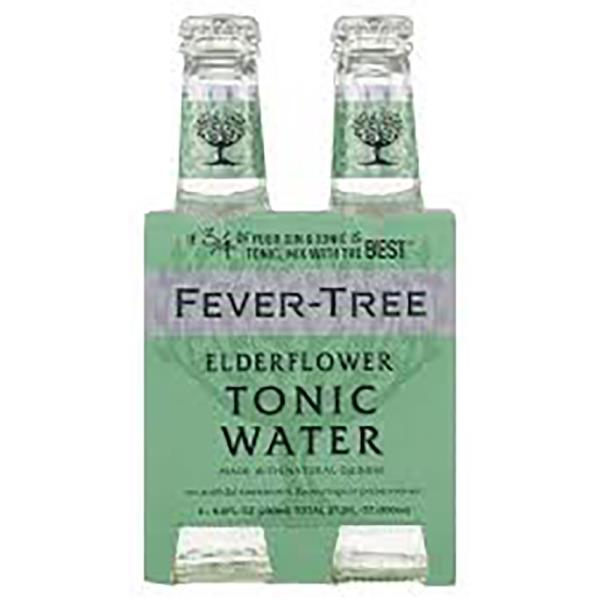 FEVER TREE ELDERFLOWER TONIC WATER