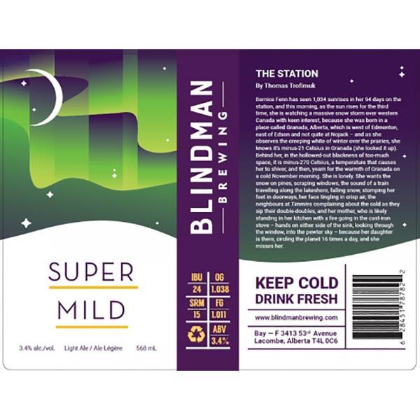 BLINDMAN SUPER MILD