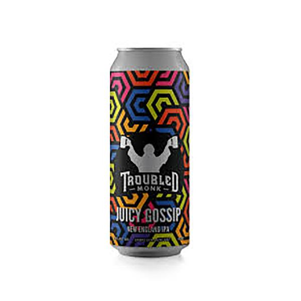 TROUBLED MONK JUICY GOSSIP IPA 473 CANS