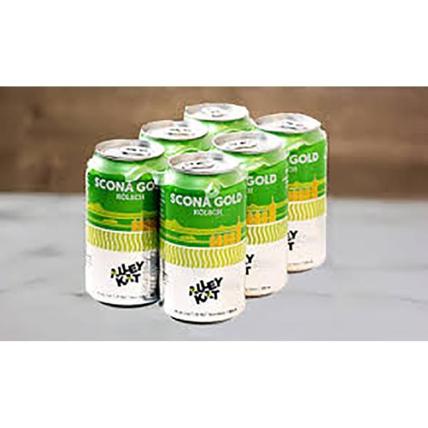 ALLEY KAT SCONA GOLD KOLSCH CANS