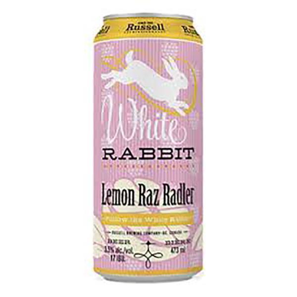 RUSSELL WHITE RABBIT LEMON RAZ RADLER