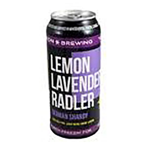YUKON LEMON LAVENDER RADLER CANS