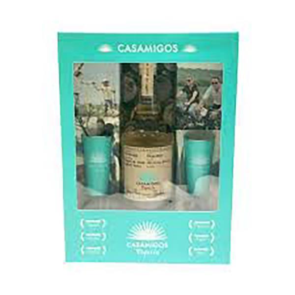 CASAMIGOS REPOSADO WITH SHOT GLASSES