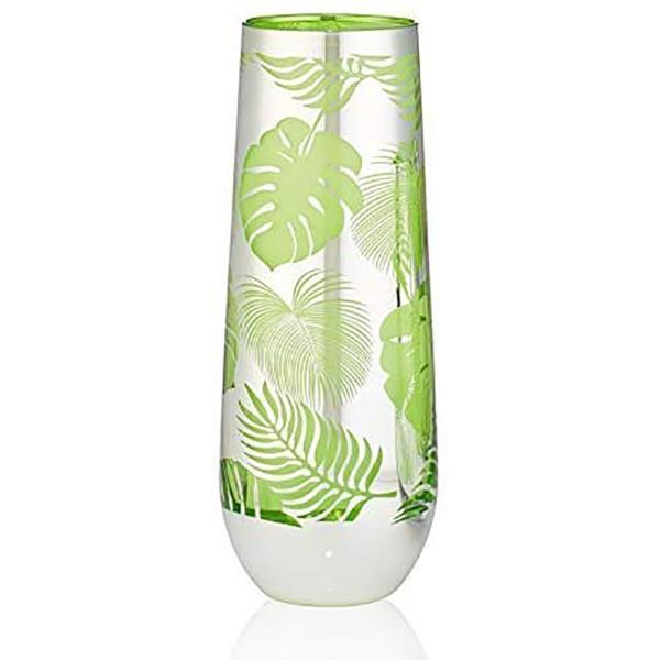TROPICAL LEAVES STEMLESS FLUTE