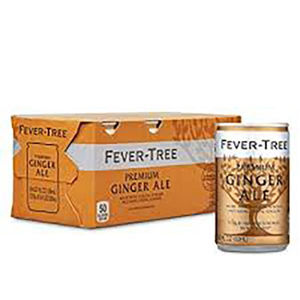 FEVER TREE GINGER ALE3X8X150ML CANS