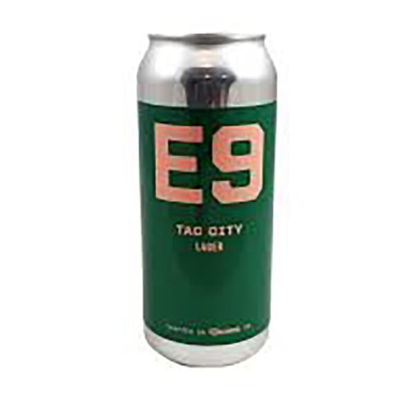 E9 TAC CITY LAGER