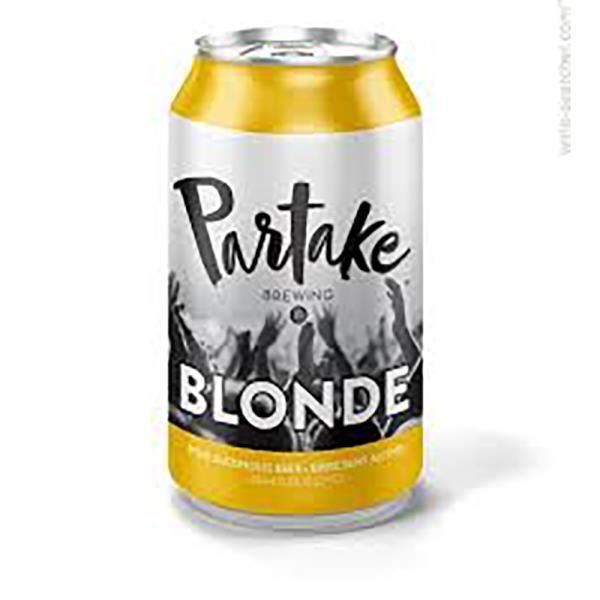 PARTAKE NON ALCOHOLIC BLONDE ALE