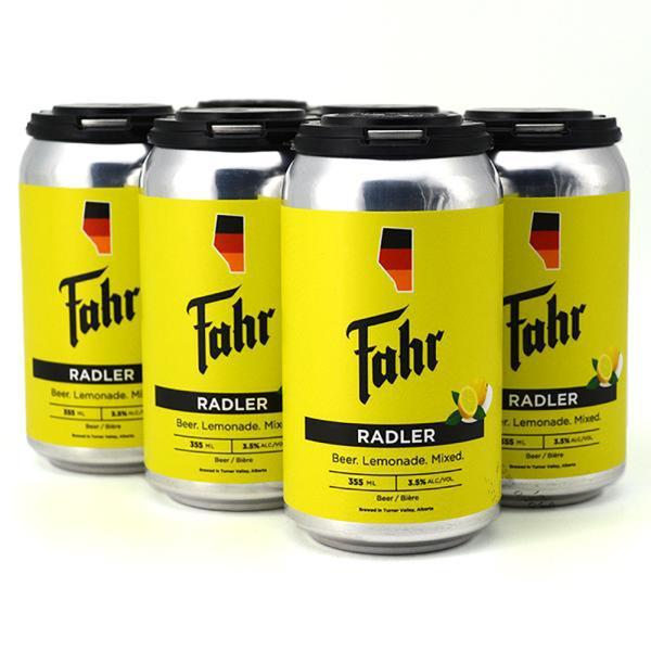 FAHR RADLER CANS 6x355ML