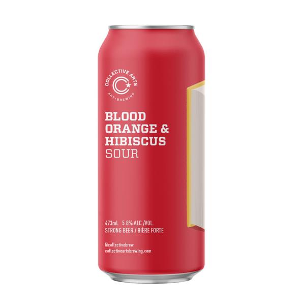 COLLECTIVE ARTS BLOOD OR HIB SOUR CAN