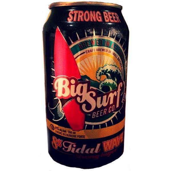 BIG SURF - TIDAL WAVE STRONG LAGER 6X355