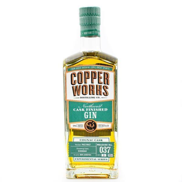COPPERWORKS CASK FINISHED GIN