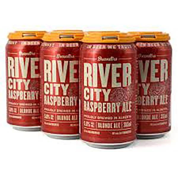 BREWSTERS RIVER CITY RASPBERRY CANS