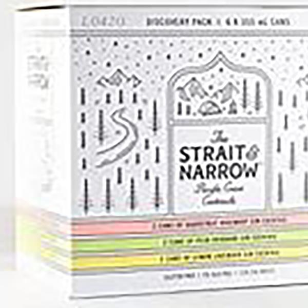STRAIT & NARROW DISCOVERY PACK 6X355ML