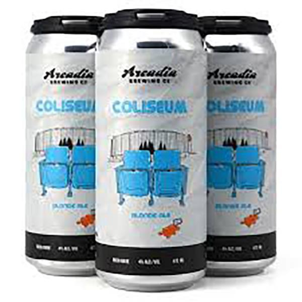 ARCADIA BREWING COLISEUM BLONDE ALE