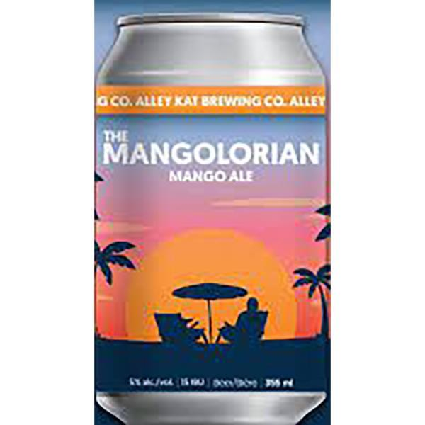 ALLEY KAT THE MANGOLORIAN MANGO ALE