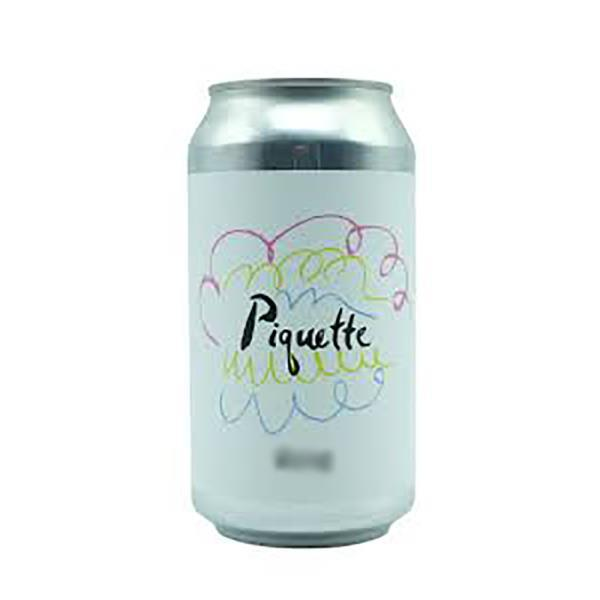 A SUNDAY IN AUGUST PIQUETTE BLANC CANS