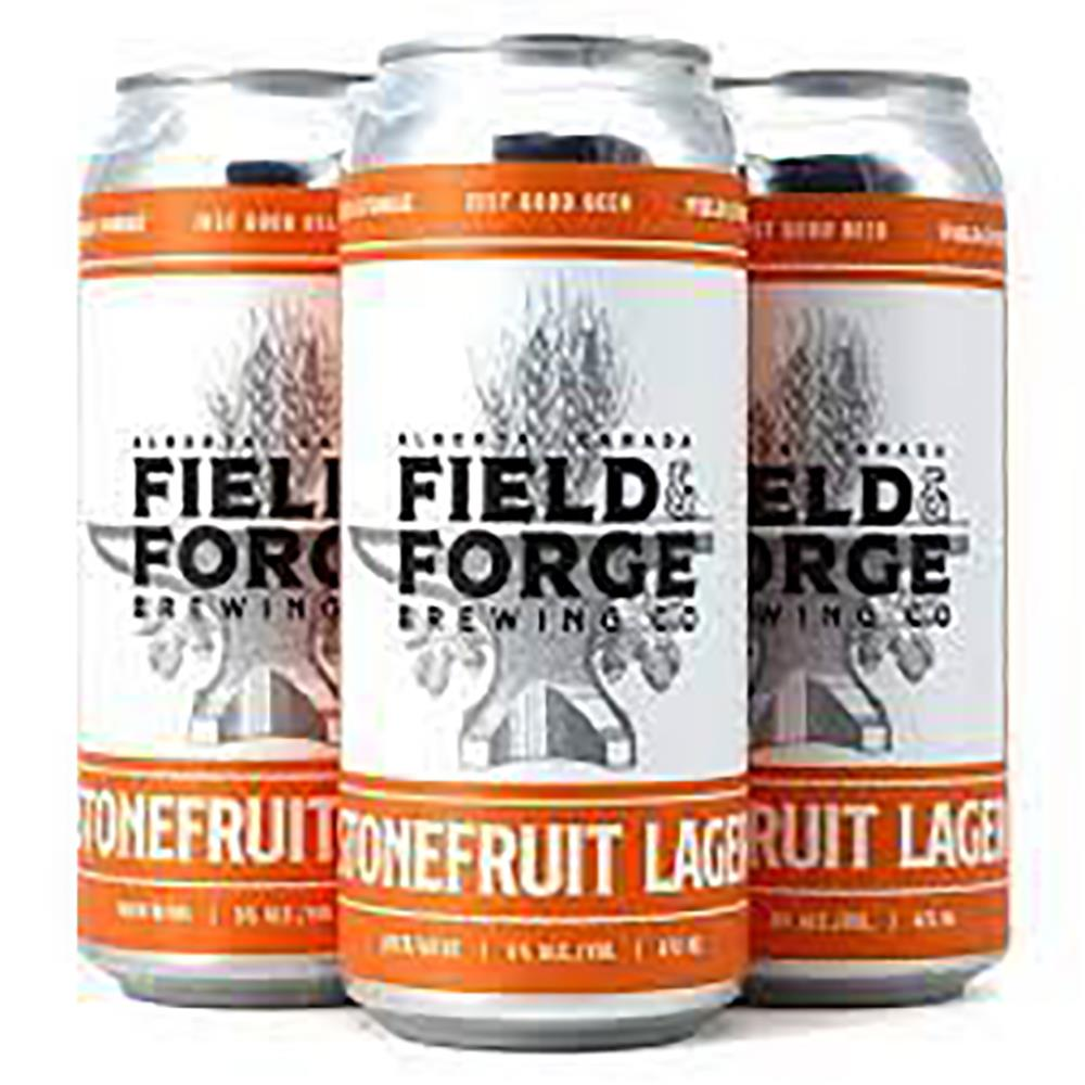 FIELD & FORGE STONEFRUIT LAGER 4 X 473