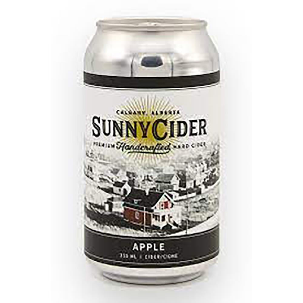 SUNNYCIDER APPLE CIDER 4PACK 355ML CAN