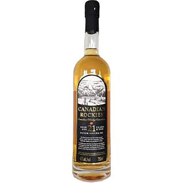 CANADIAN ROCKIES WHISKY 21 YEAR OLD