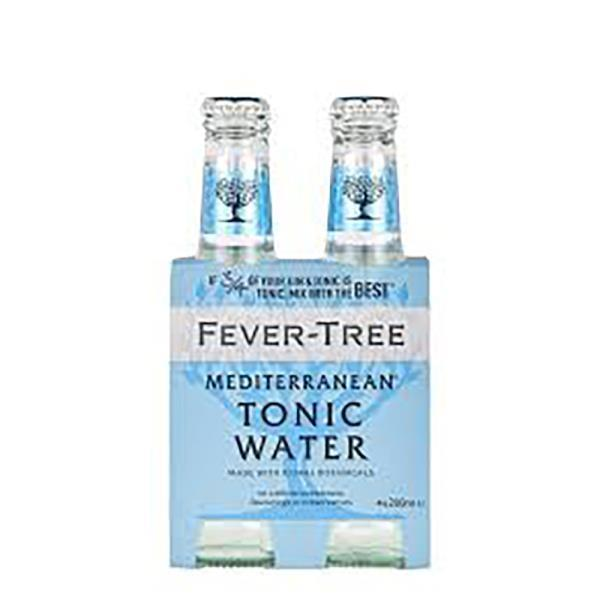 FEVER TREE MEDITERRANEAN TONIC 4 PACK