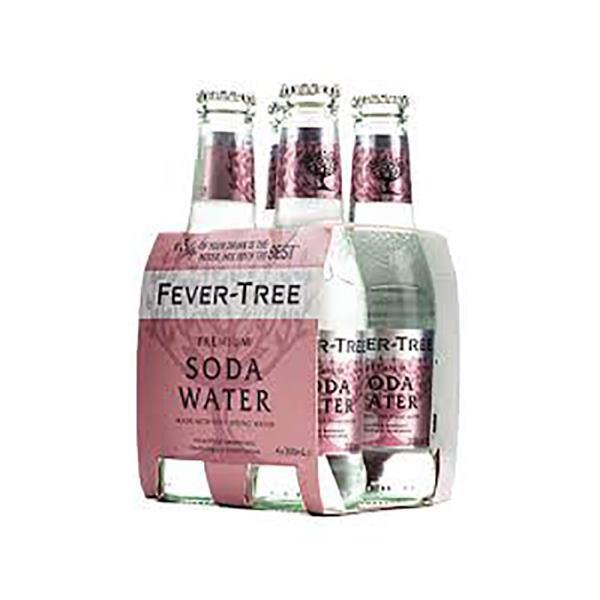 FEVER TREE SODA WATER 4 PACK
