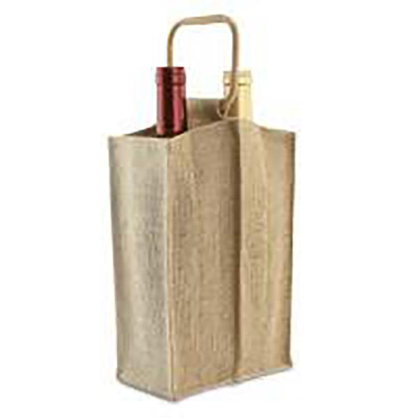 EPIC JUTE BAG 2 BOTTLE