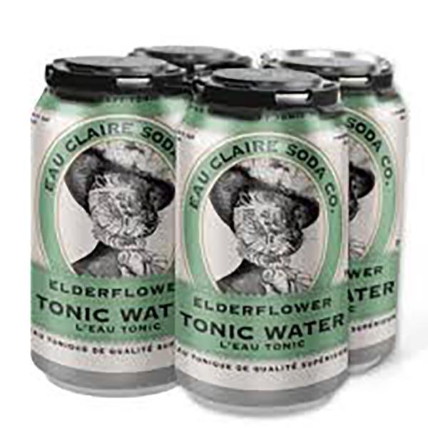EAU CLAIRE ELDERFLOWER TONIC WATER CANS