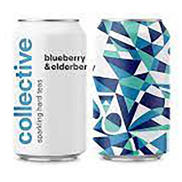 COLLECTIVE BLUEBERRY&ELDERBER HARD TEA