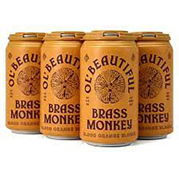 BRASS MONKEY BLOOD ORANGE BLONDE 6PK