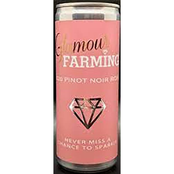 GLAMOUR FARMING PINOT NOIR ROSE 250MLCAN