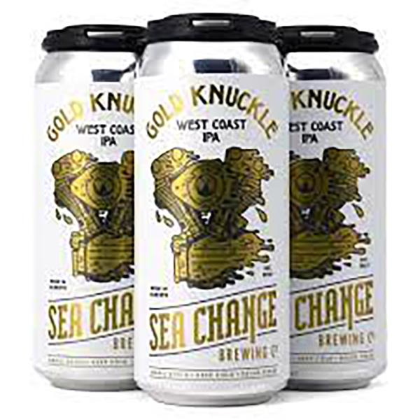 SEA CHANGE GOLD KNUCKLE IPA 473ML 4 PACK