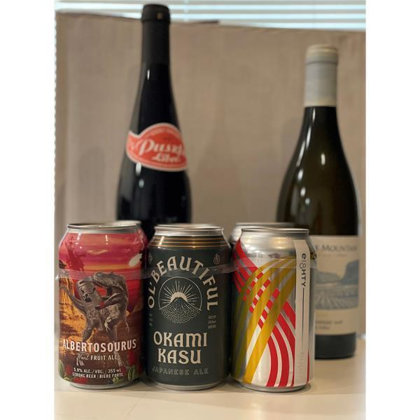FATHERS DAY BBQ SIDES-BEER/WINE FOR2