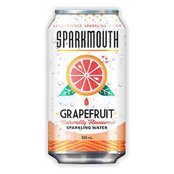 SPARKMOUTH SPARKLING WATER GRAPEFRUIT