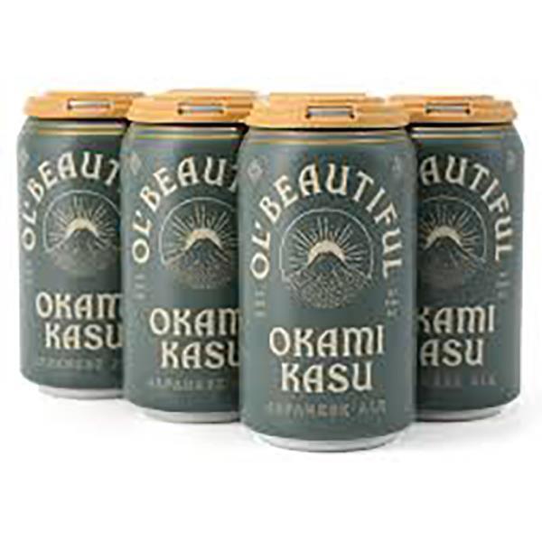 OL BEAUTIFUL OKAMI KASU JAPANESE ALE 6PK