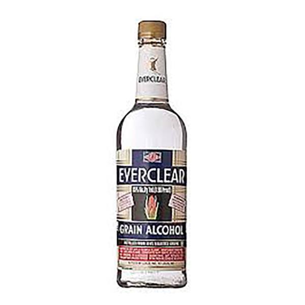 EVERCLEAR 190 PROOF GRAIN ALCOHOL