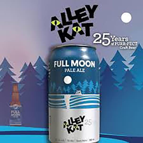 ALLEY KAT FULL MOON PALE ALE 355ml CAN