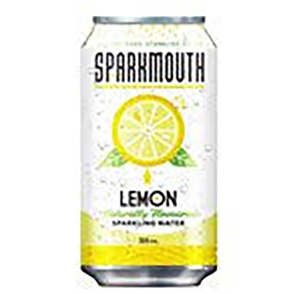 SPARKMOUTH SPARKLING WATER LEMON CAN