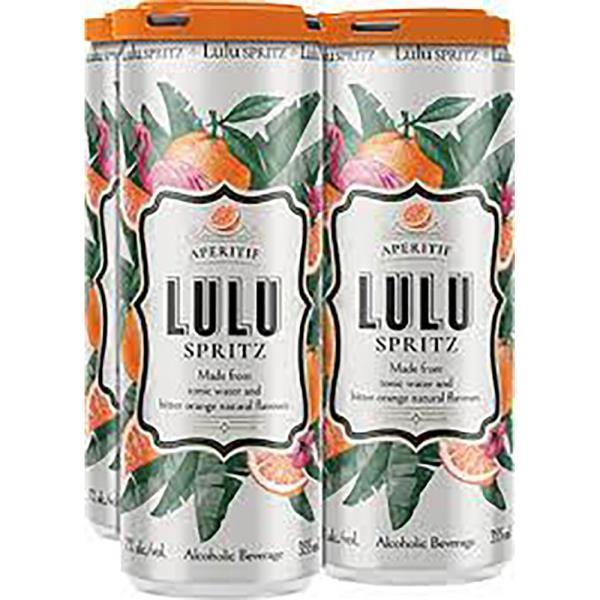 LULU SPRITZ 4 PACK CANS