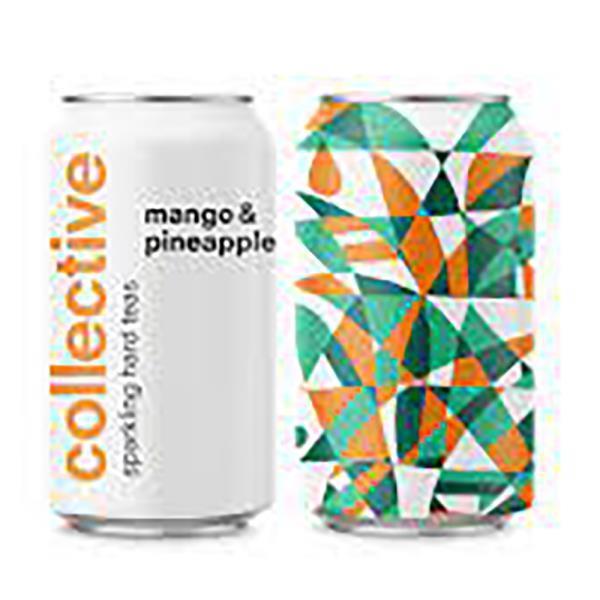 COLLECTIVE MANGO&PINEAPPLE HARD TEA