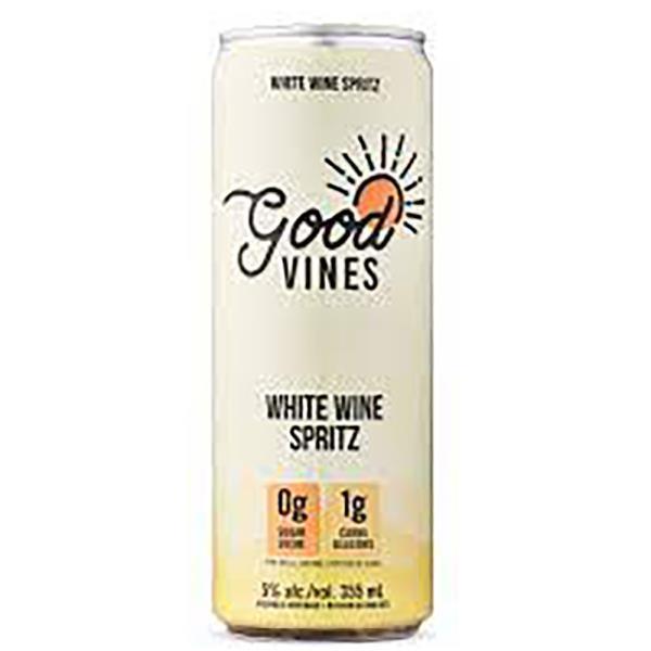 GOOD VINES WHITE WINE SPRITZ 4 PACK