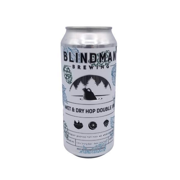 BLINDMAN WET & DRY HOP DOUBLE IPA